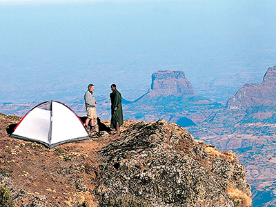 Camping dans le Simien - Mohammed Torche